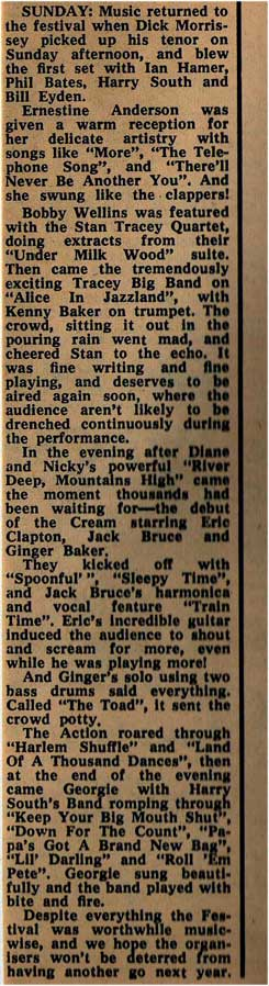 Cream - live review